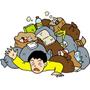 ゴミ屋敷片付け作業