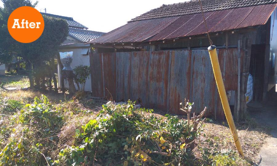 庭木の剪定 伐採 家屋の修復 アフター